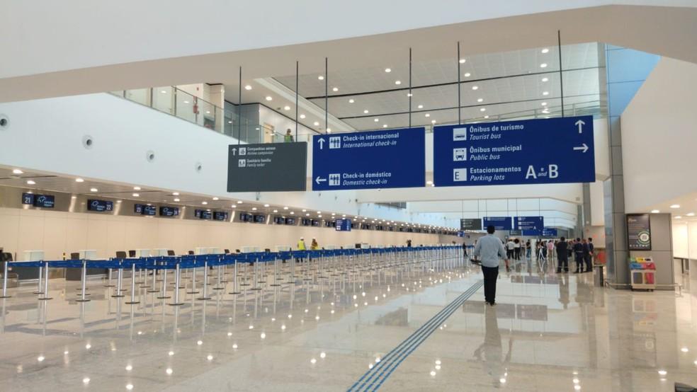 Fase 1B das obras do Fortaleza Airport é entregue